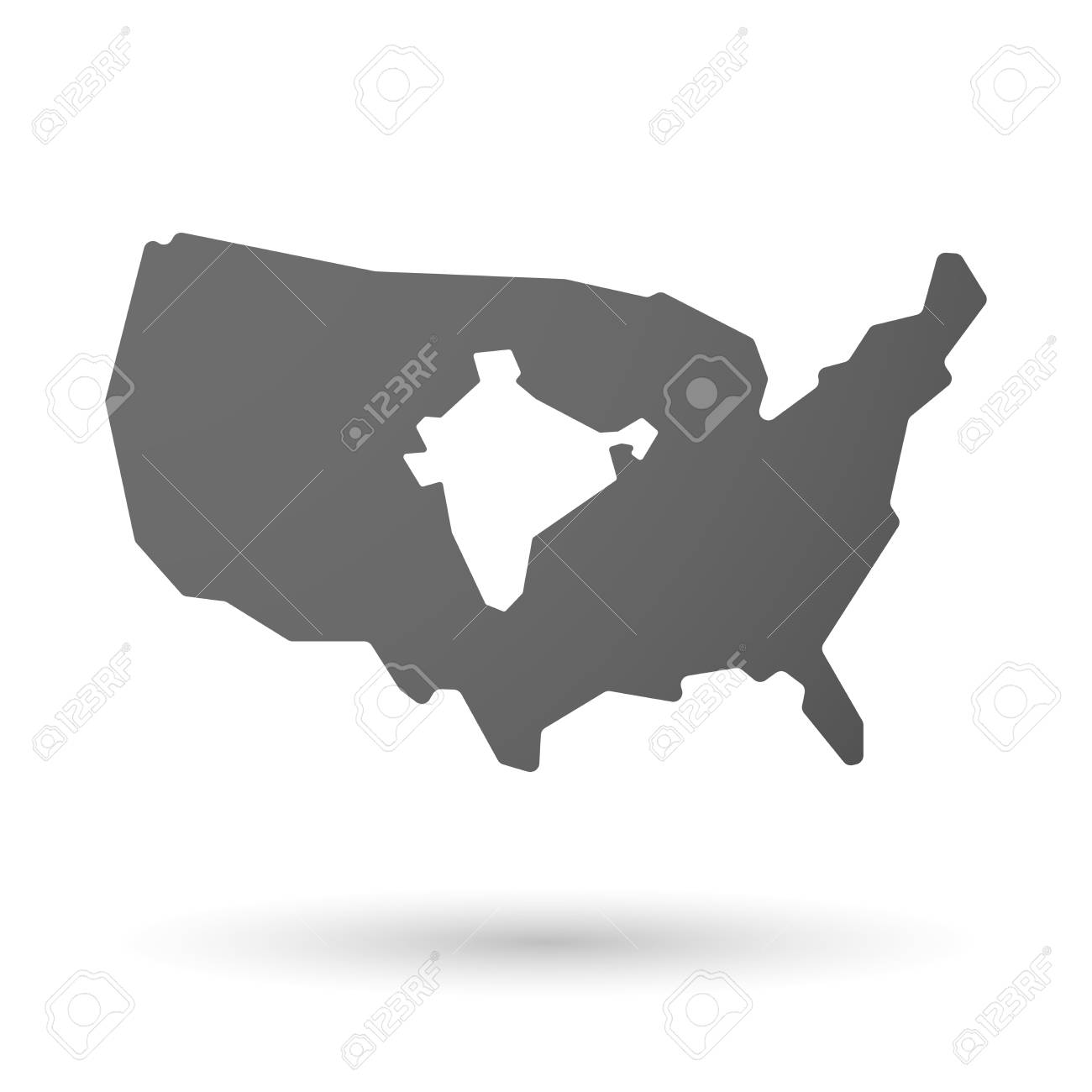 illustration of an isolated USA map icon with a map of India on russia and usa map, india and money, solomon islands and usa map, somalia and usa map, japan and usa map, england and usa map, ireland and usa map, germany and usa map, colombia and usa map, iceland and usa map, switzerland and usa map, mexico and usa map, cuba and usa map, belize and usa map, canada and usa map, egypt and usa map, spain and usa map, denmark and usa map, india and usa flag, latin america and usa map,