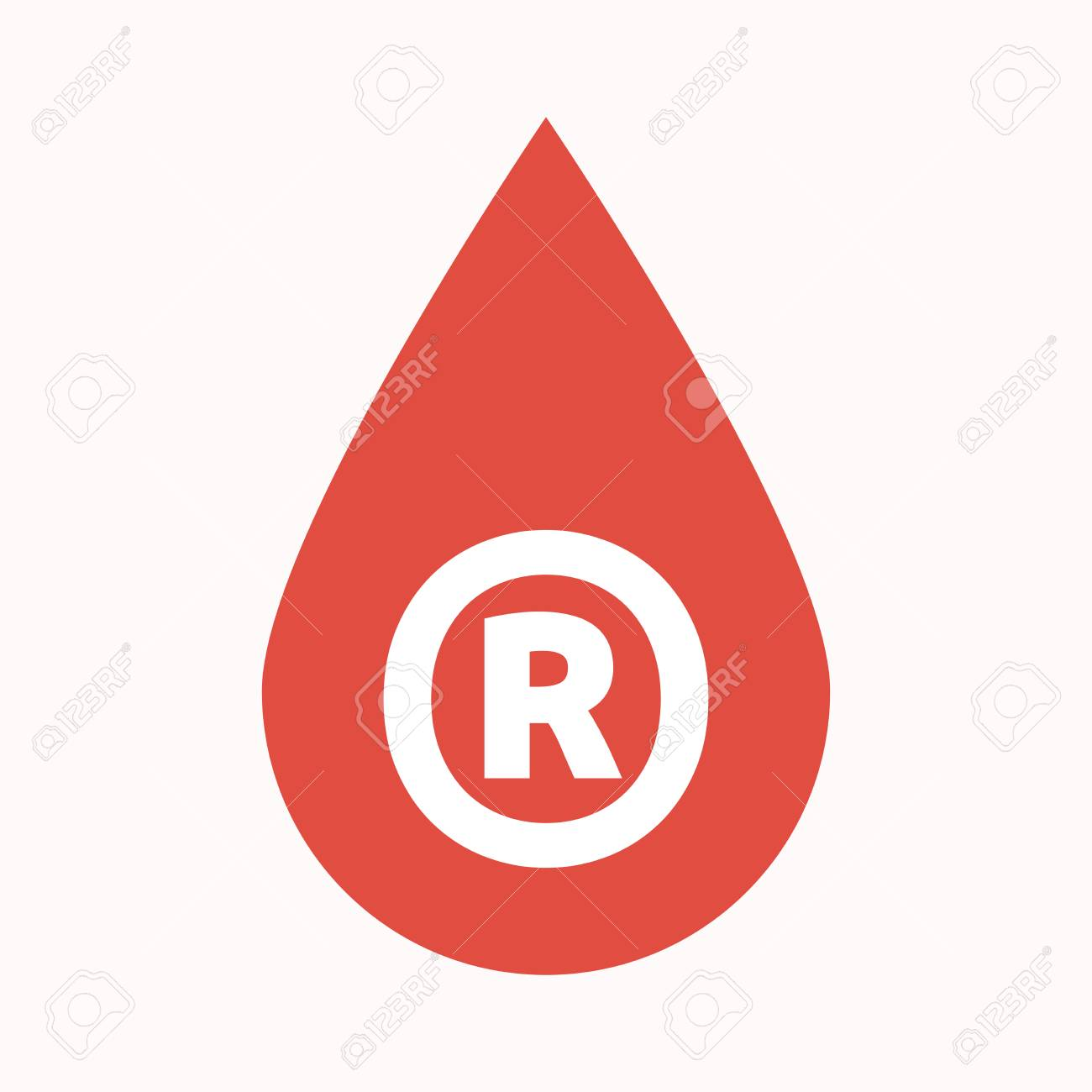 Illustration of an isolated blood drop with the registered illustration of an isolated blood drop with the registered trademark symbol stock vector 78189218 biocorpaavc Gallery