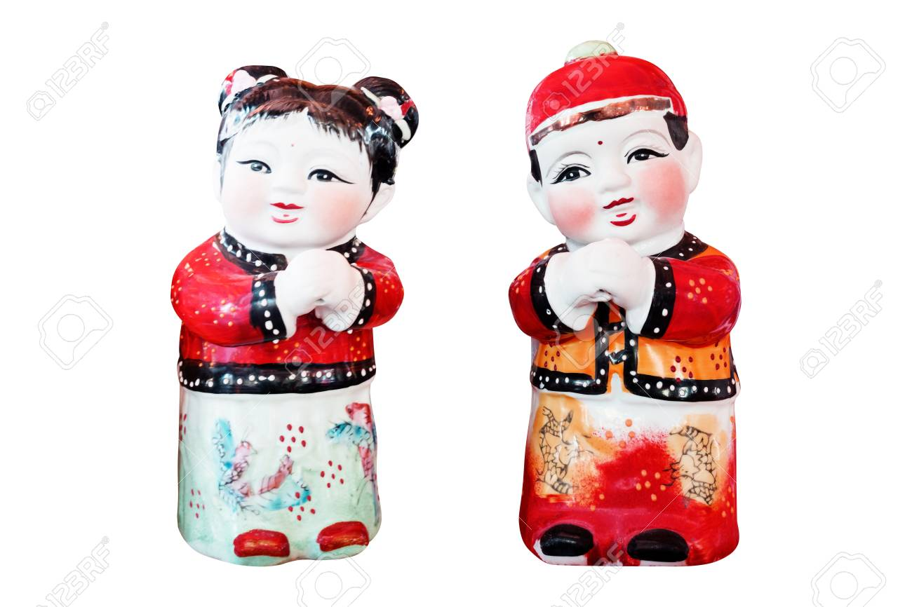 Chinese Doll Dolls & Bears