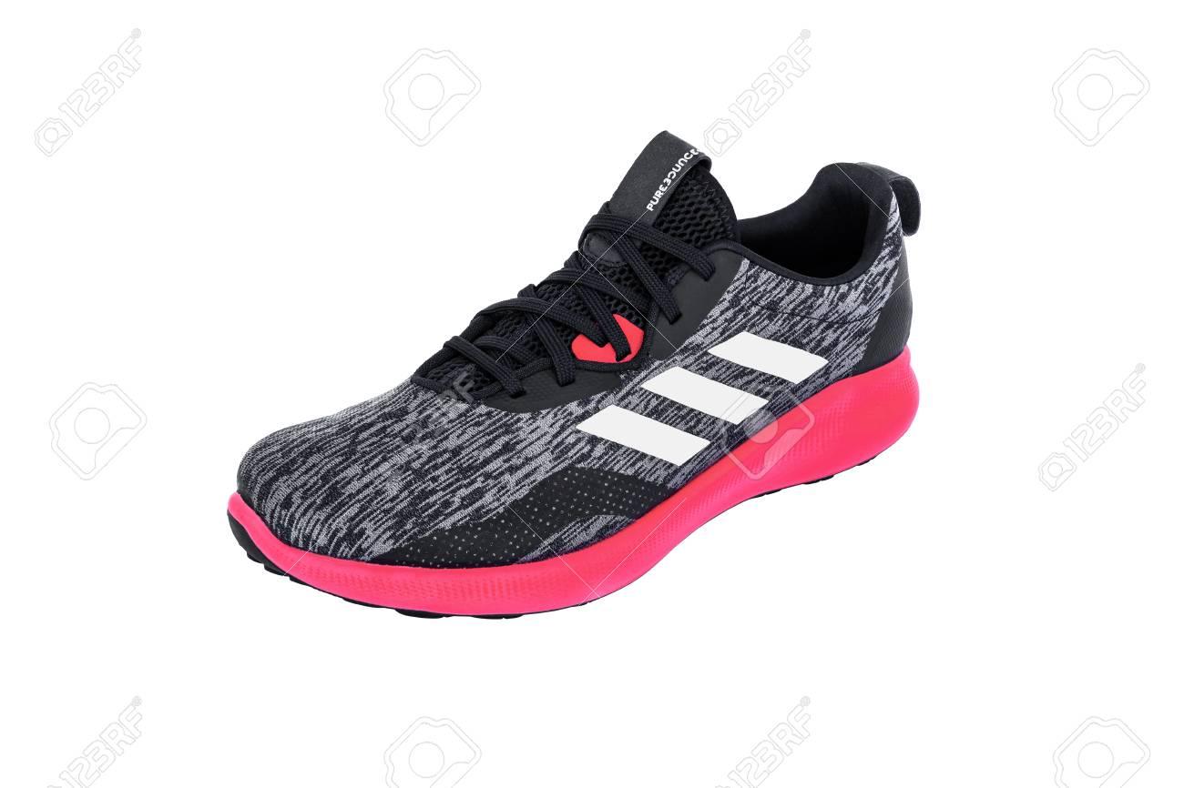buy online 2c8c1 019f1 Roi Et, Thailand - June 7, 2019 : Adidas PUREBOUNCE+ STREET SHOES...