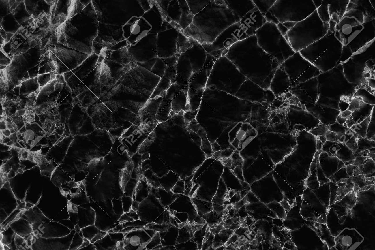 Black marble texture for background or tiles floor decorative design. - 165882001