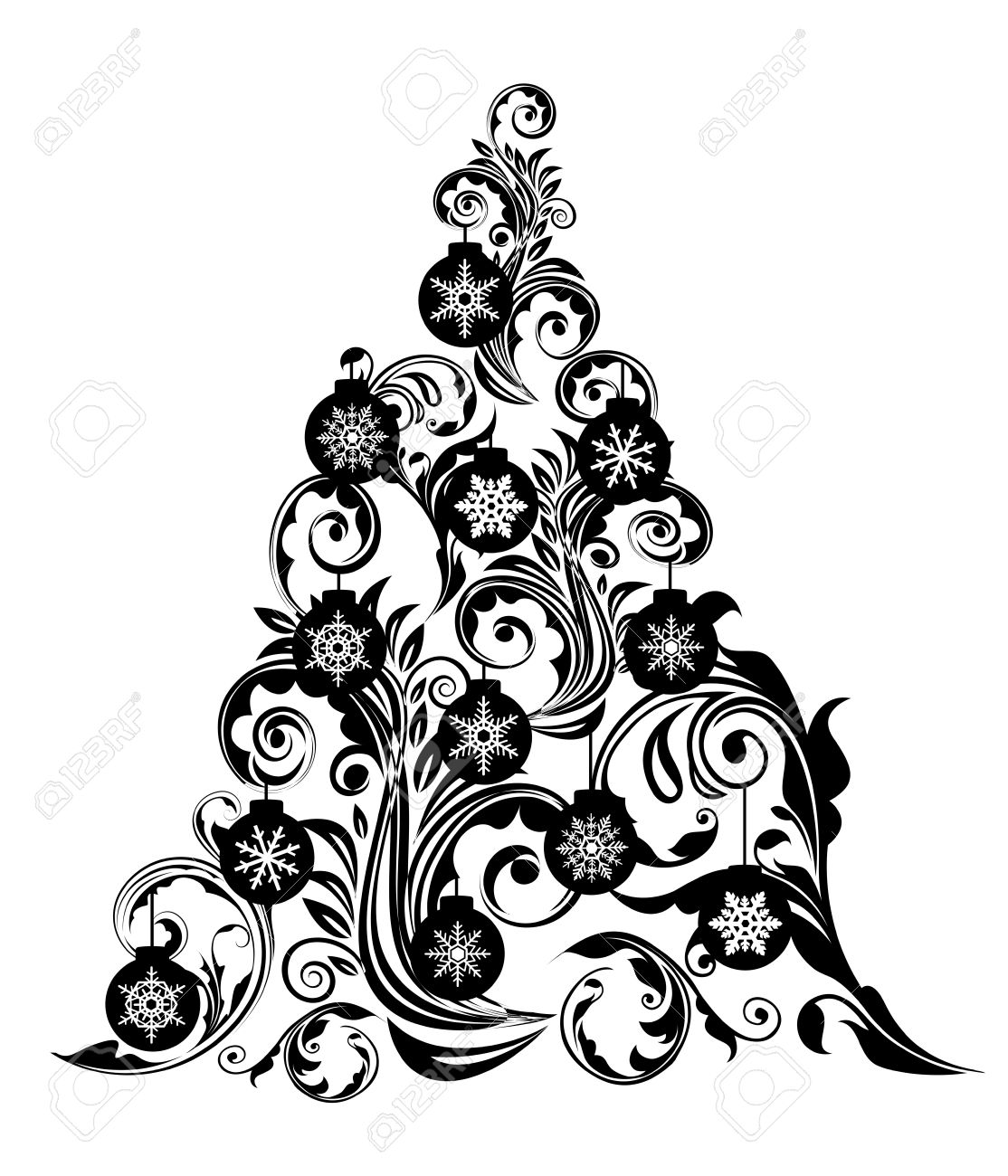 Christmas Snowflake Clip Art