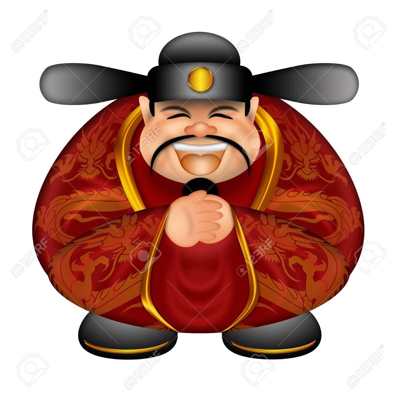 Chinesische Prosperity Geld Gottes Wunsch Glückliche Lunar New Year ...