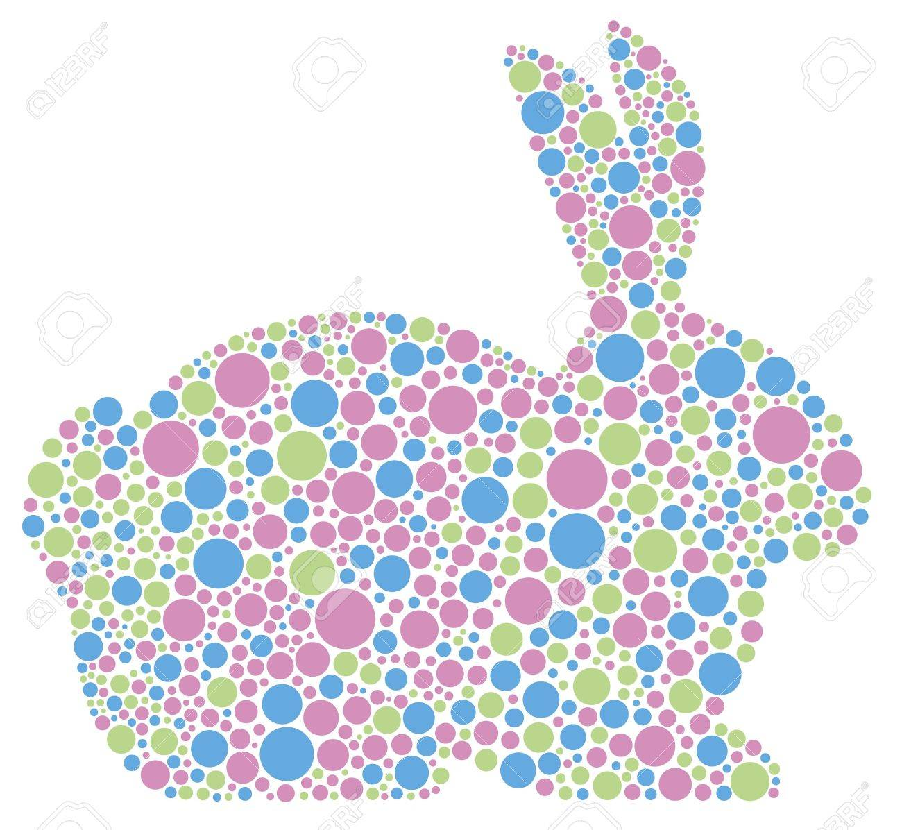 easter rabbit outline stock photos u0026 pictures royalty free easter
