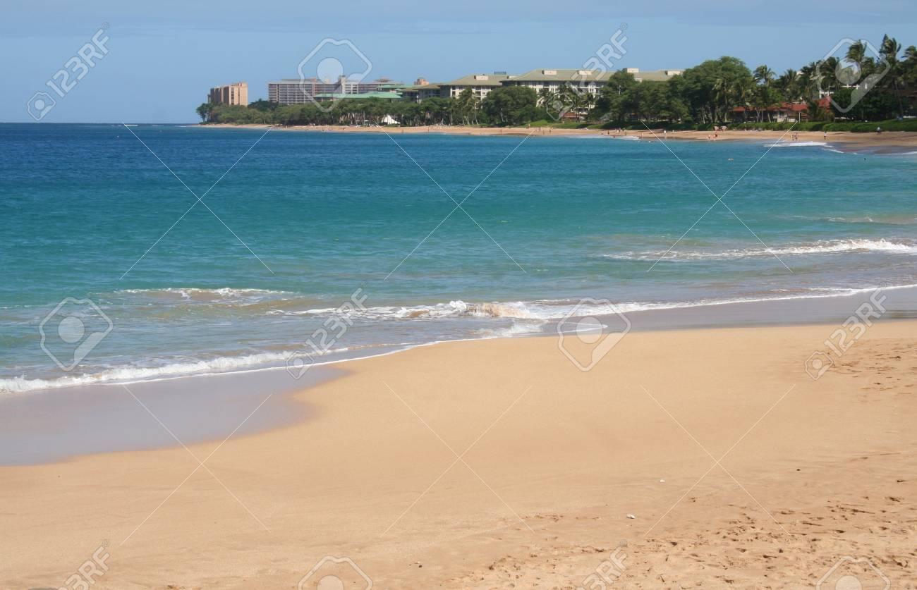 Kaanapali Beach On Maui Hawaii