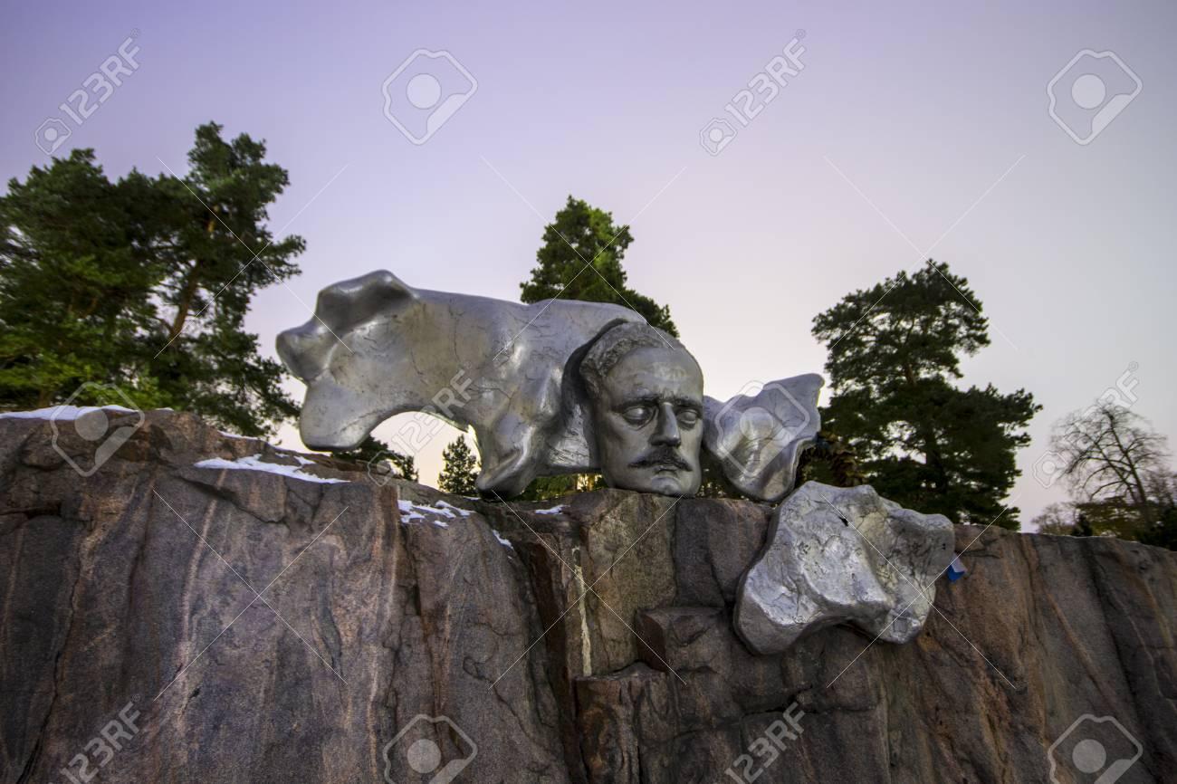 シベリウス-monumentti、フィンランドの首都ヘルシンキの ...