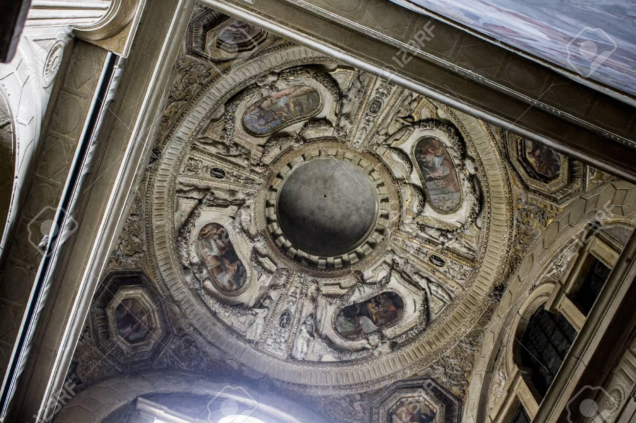 The Basilica of San Giacomo Maggiore, an historic Roman Catholic..