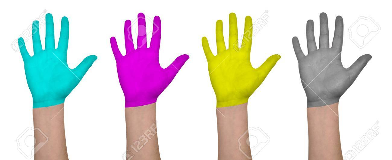 cmyk colors Stock Photo - 12411344
