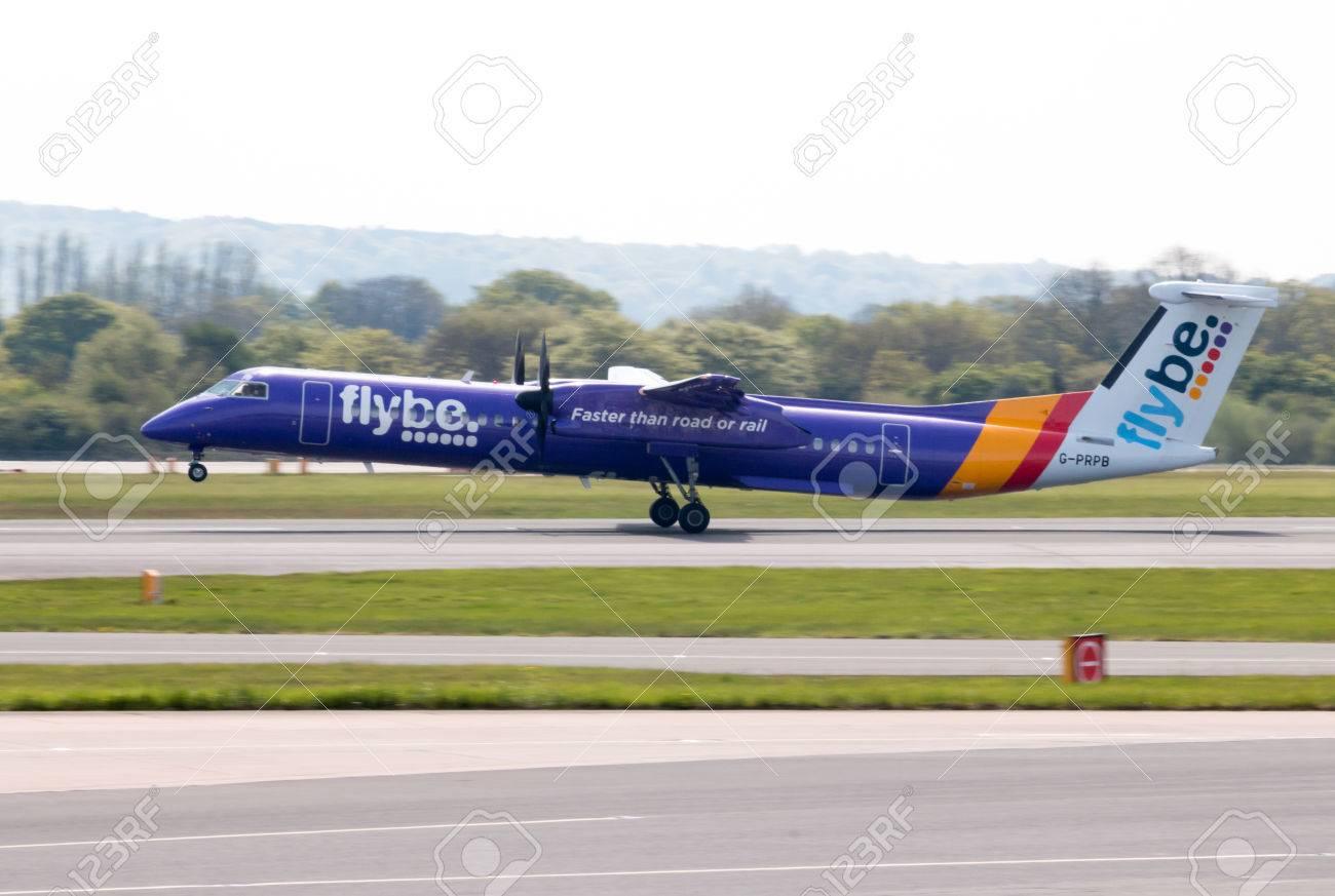 flybe bombardier dash 8 q400 twin engine medium range turboprop rh 123rf com