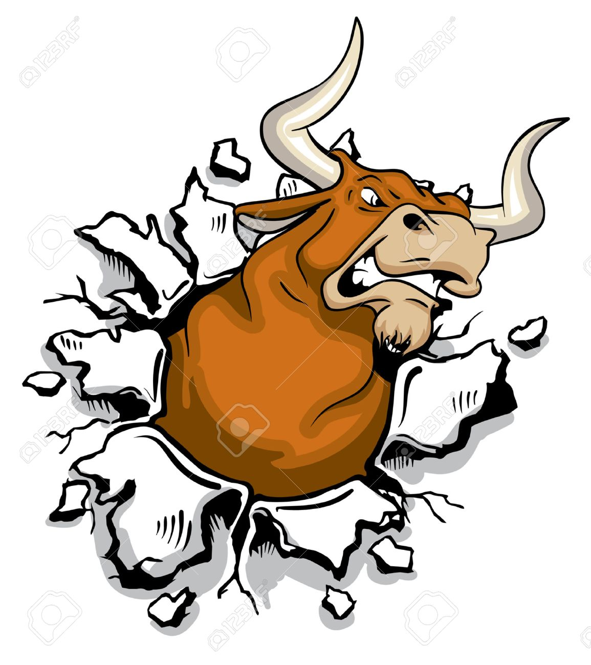 28,646 Bull Stock Vector Illustration And Royalty Free Bull Clipart
