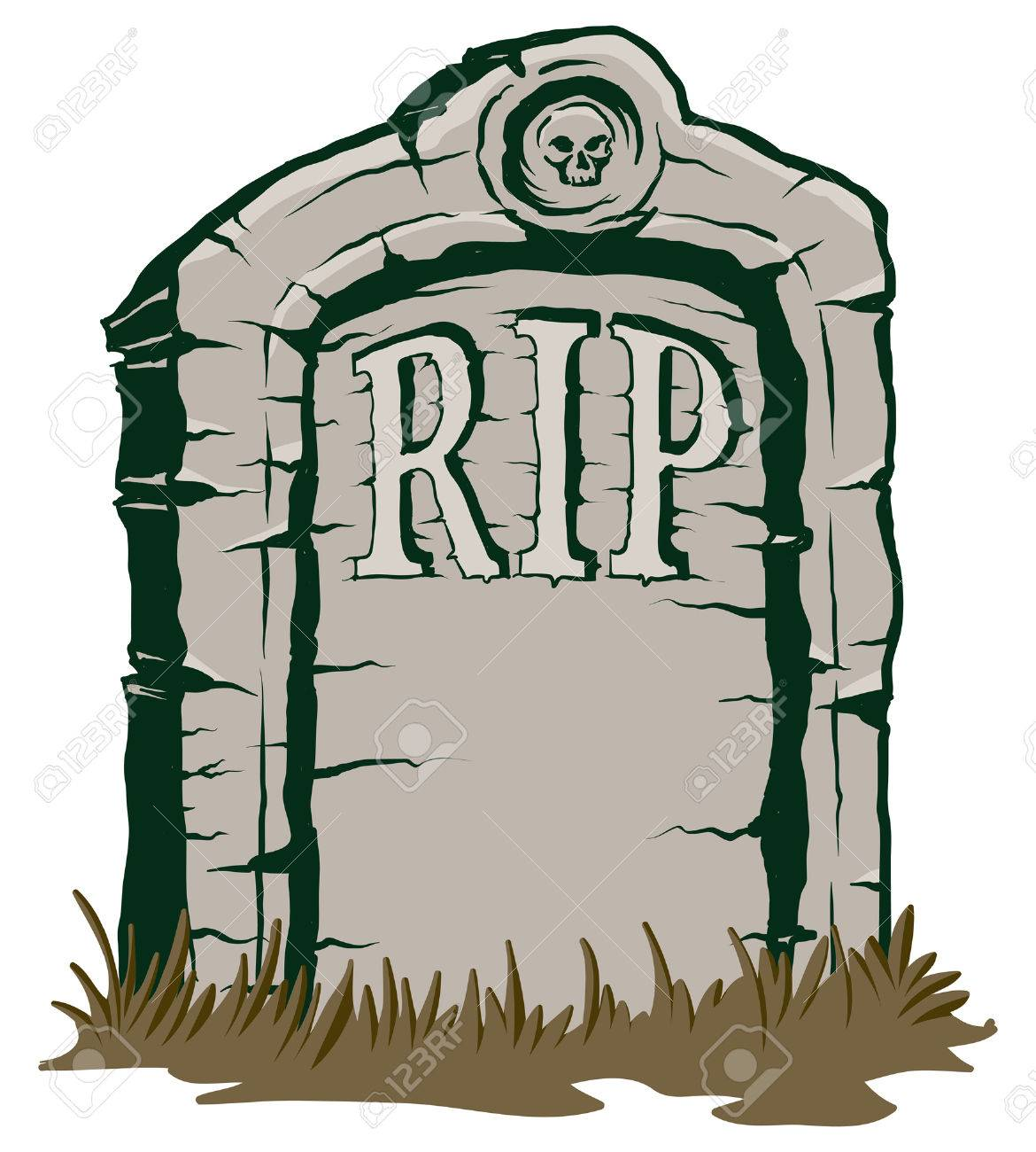 an illustration of a stone tombstone rip royalty free cliparts rh 123rf com cartoon tombstone generator cartoon tombstone maker