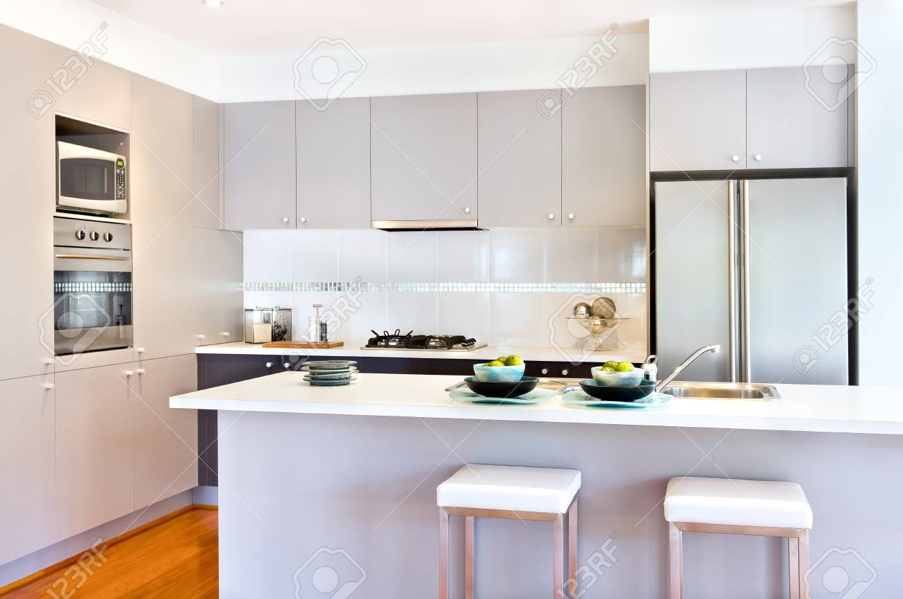 There Are More Wall Cabinets Or Pantry Cupboards With A Stove ... on