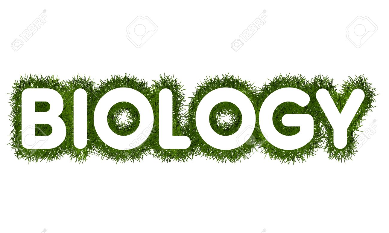 biology title with grass arround stock photo picture and royalty