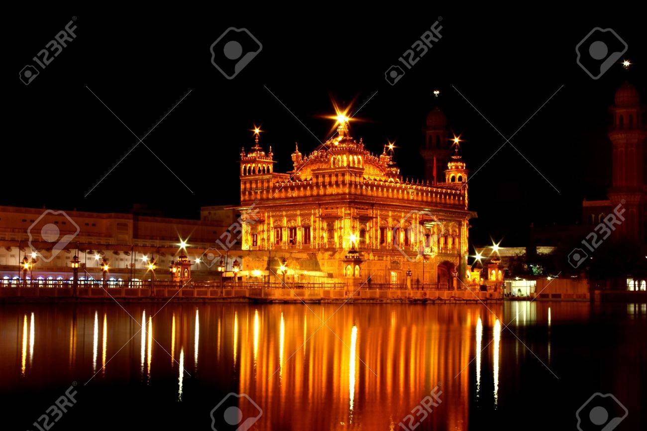 golden temple, amritsar, punjab, india stock photo, picture and