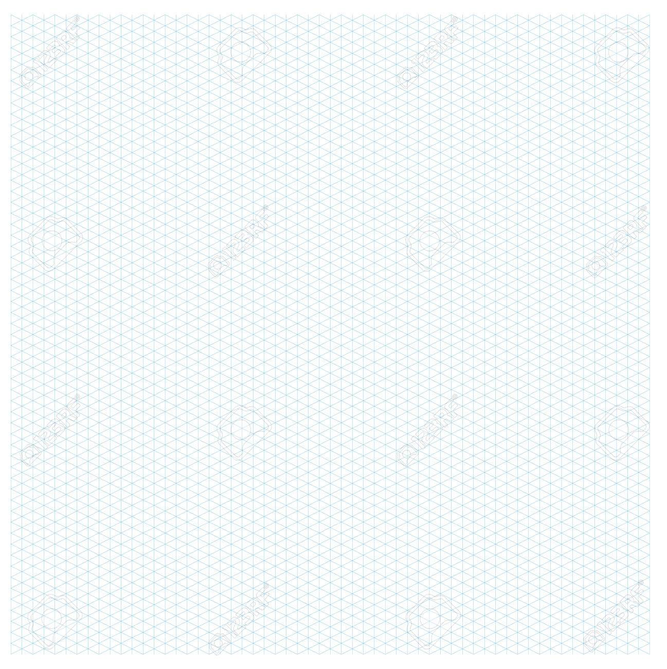 Isometric Graph Paper Layout With 2657 Degree Seamless Pattern 78775692  Isometric Graph Paper Layout With 26