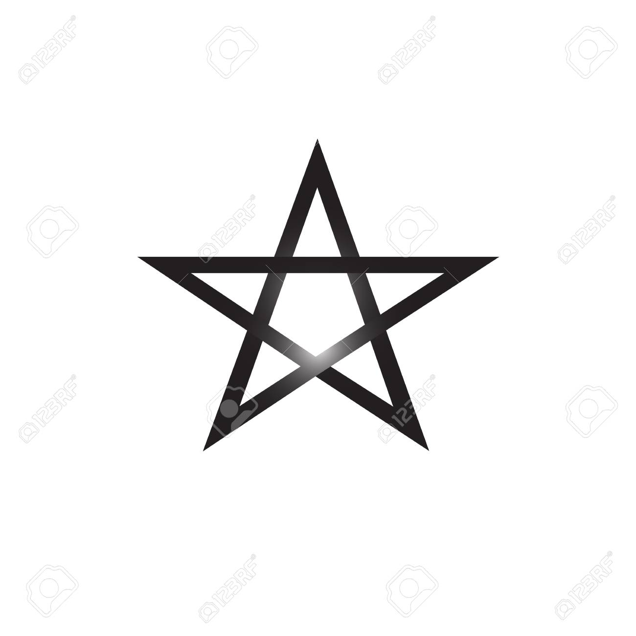 Pentagram vector icon isolated on white background satanic sign pentagram vector icon isolated on white background satanic sign stock vector 88859128 biocorpaavc Choice Image