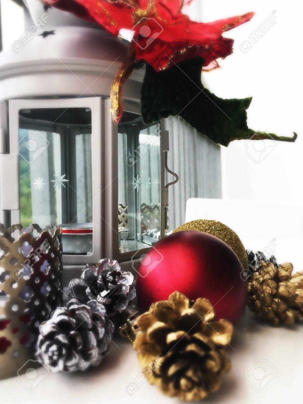 Christmas Lanterns.Christmas Lanterns And Ornaments Make A Great Christmas Decoration
