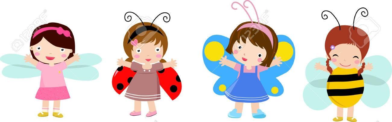 happy kids Stock Vector - 6303398