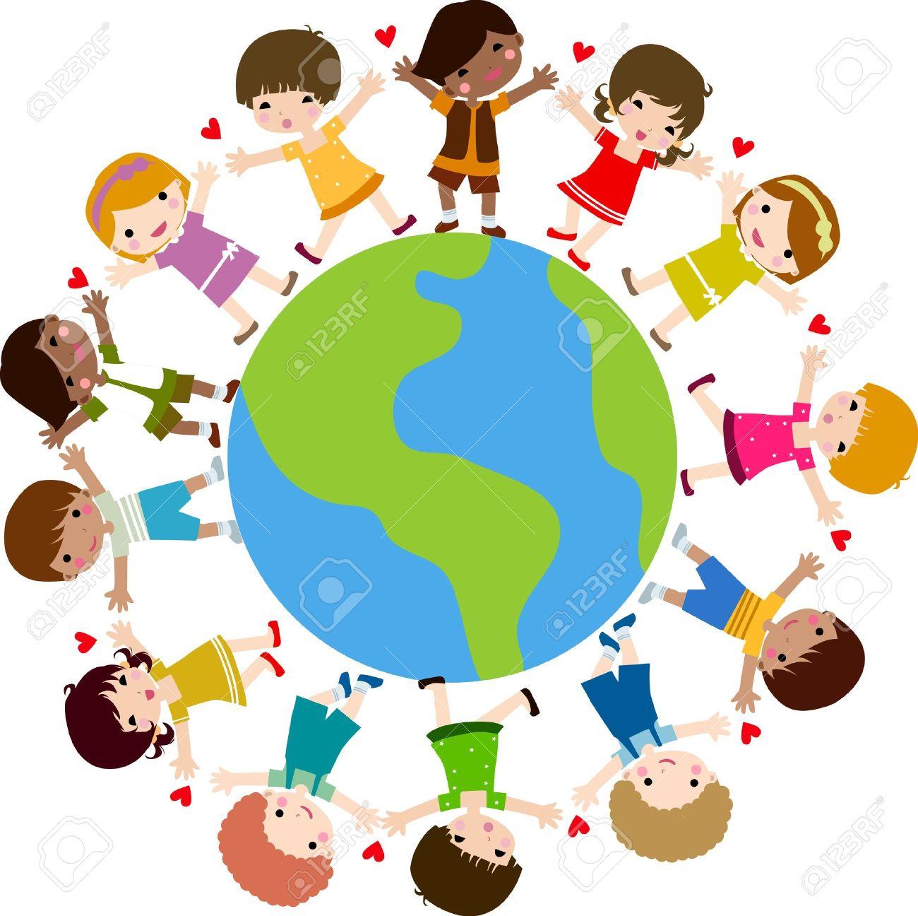 Souvent Coloriage Ronde Enfants Du Monde AS85