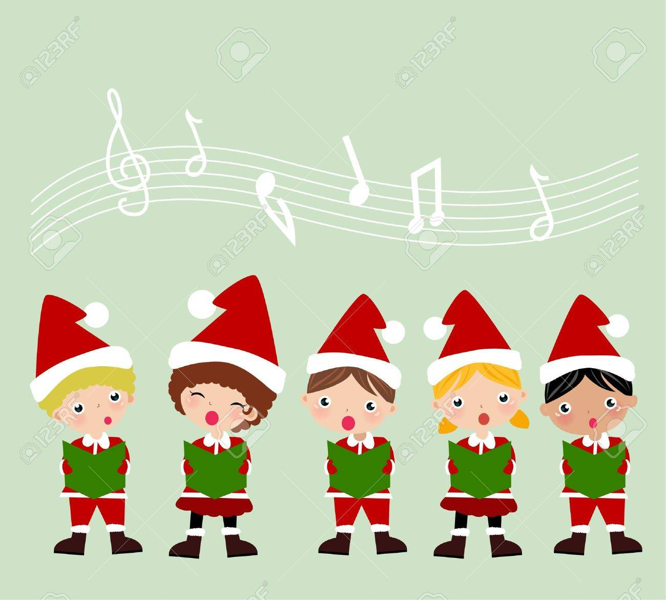 Christmas Carol Stock Vector - 9775317