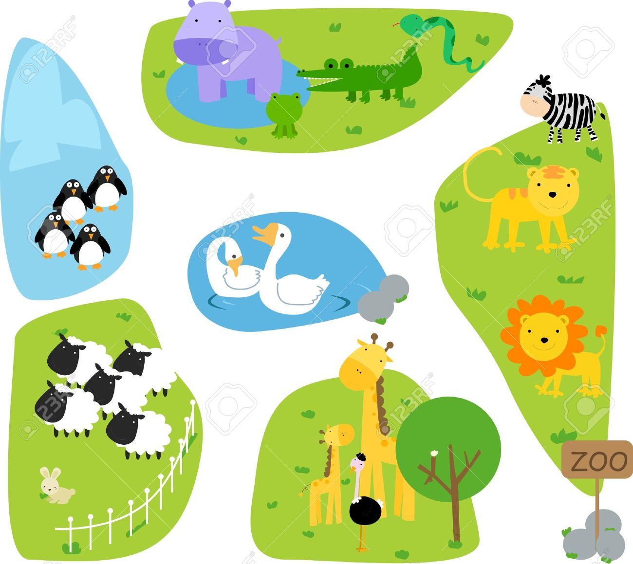 zoo Stock Vector - 8887127