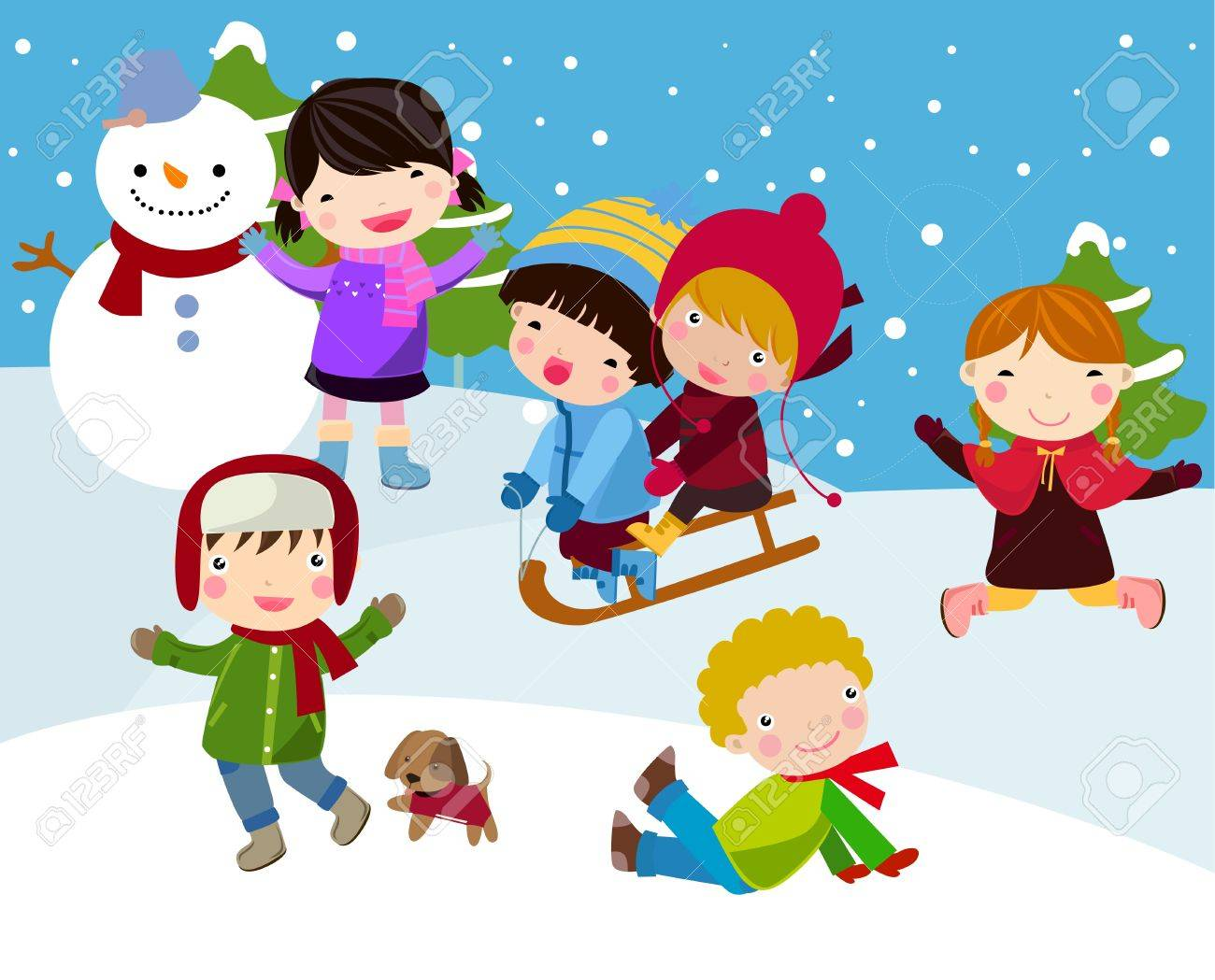 children Stock Vector - 9774761