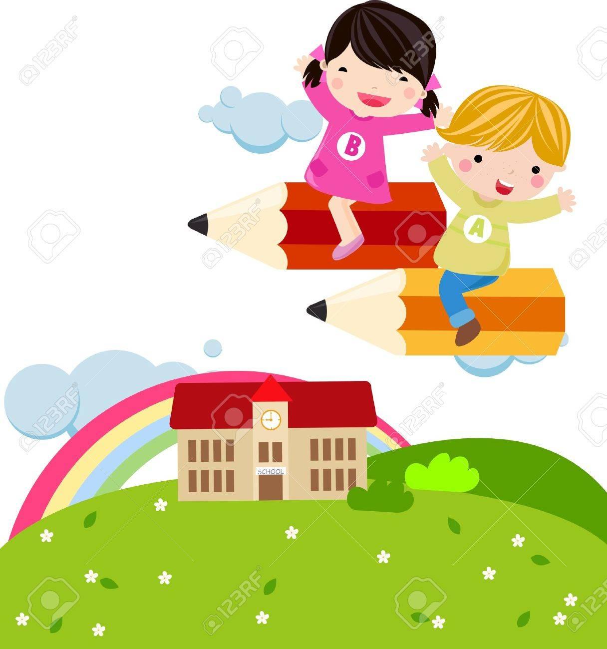 Welcome to school Stock Vector - 16721463