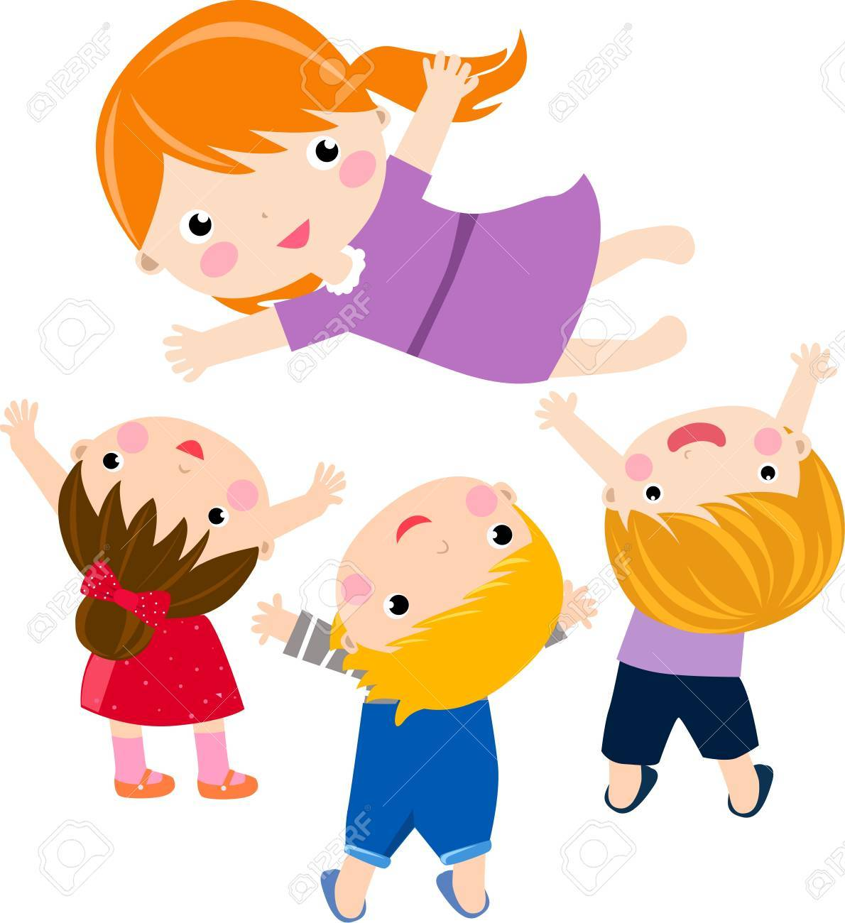 boys and girls Stock Vector - 16721447