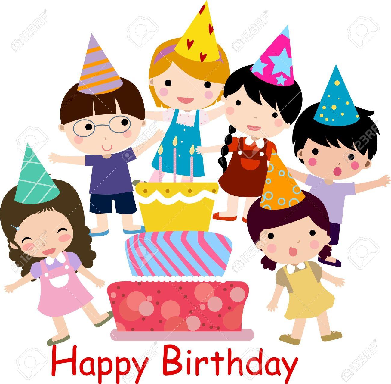 Birthday celebration Stock Vector - 11417862
