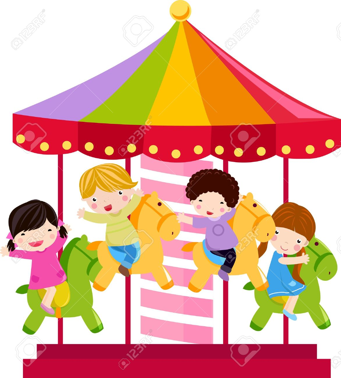 Image result for carousel free clipart