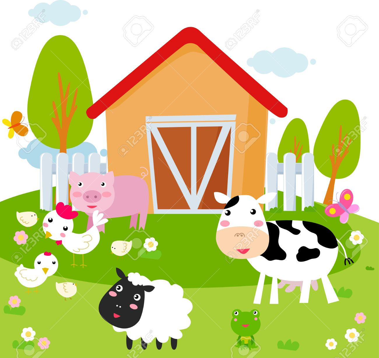 farm cartoon stock photos u0026 pictures royalty free farm cartoon