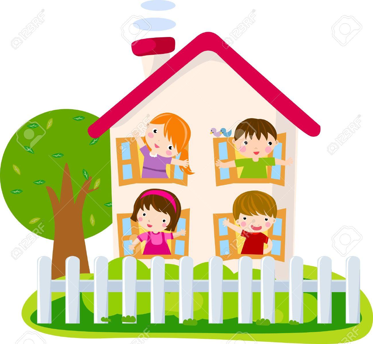 cartoon house Stock Vector - 16497413
