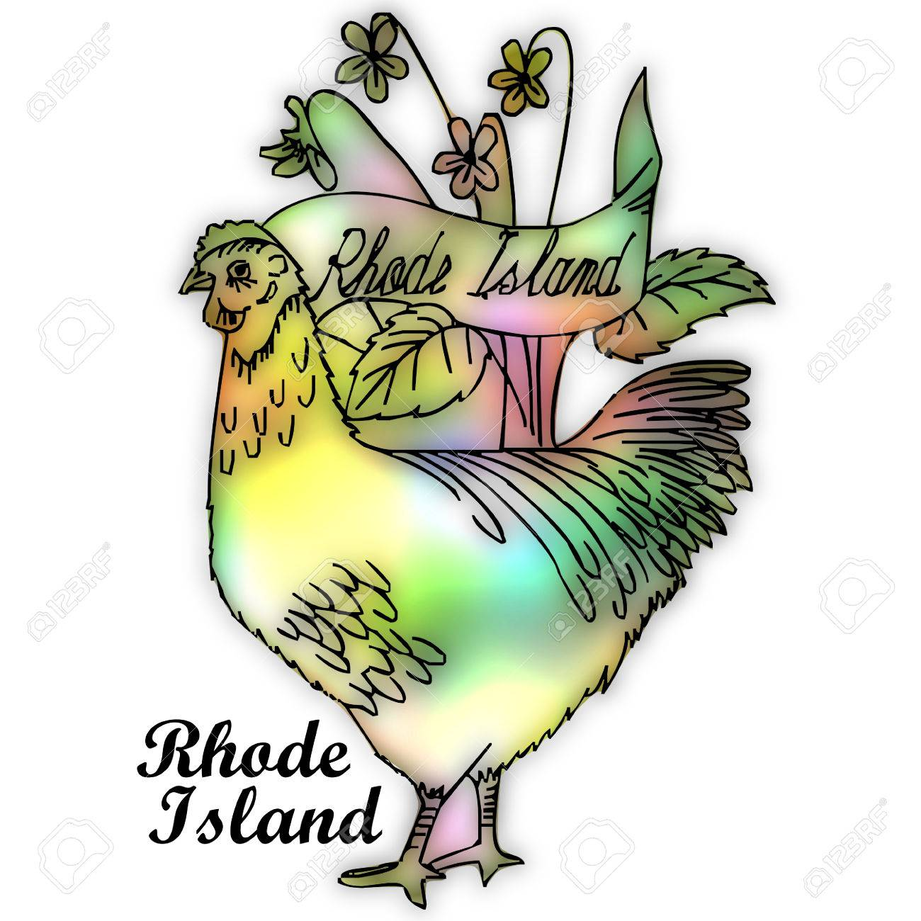 rhode island state bird stock photo picture and royalty free image