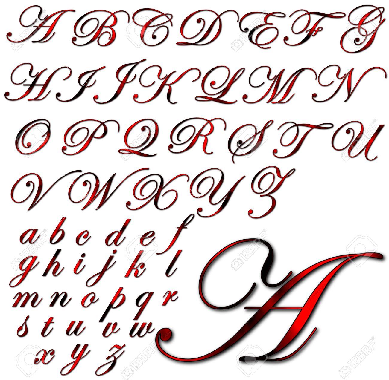 abc alphabet lettering design stock photo 31040984