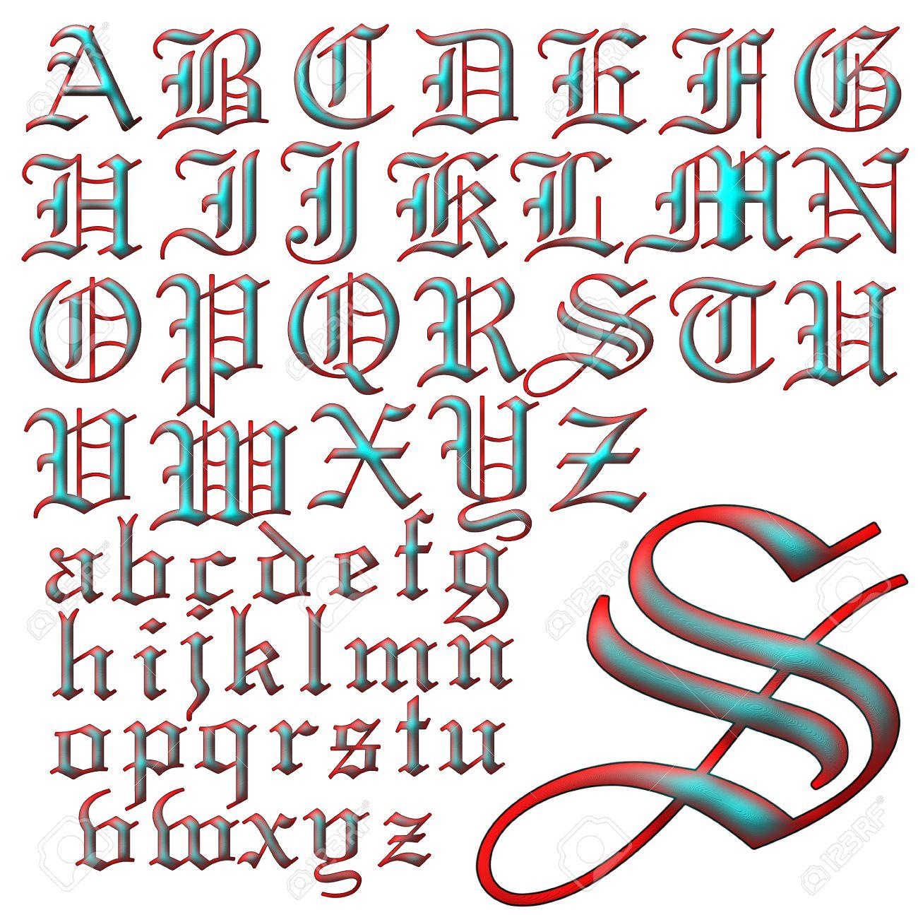abc alphabet lettering design stock photo 31040993