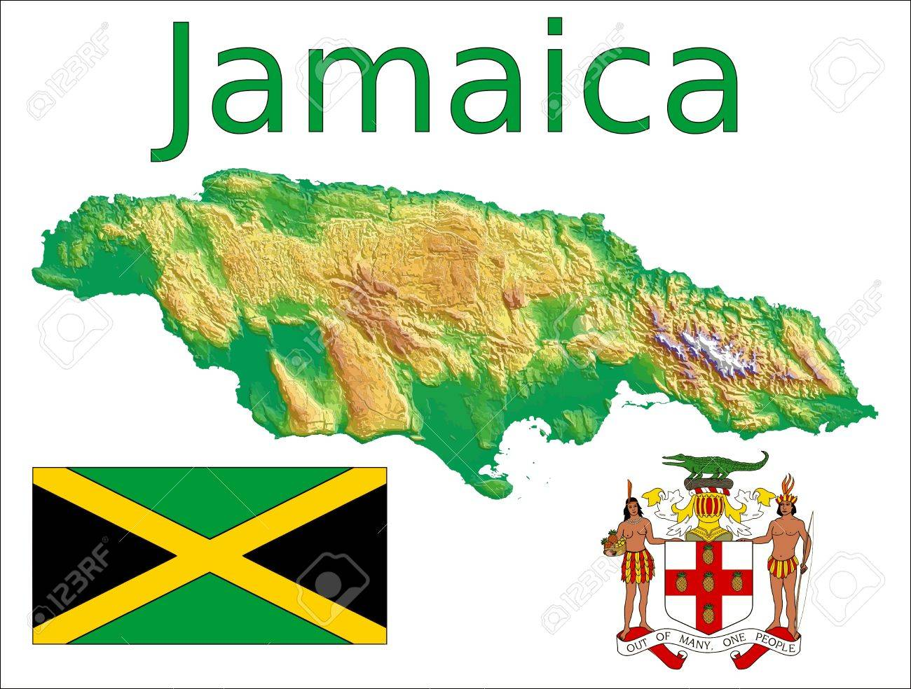 04cb64de8 Jamaica map flag coat