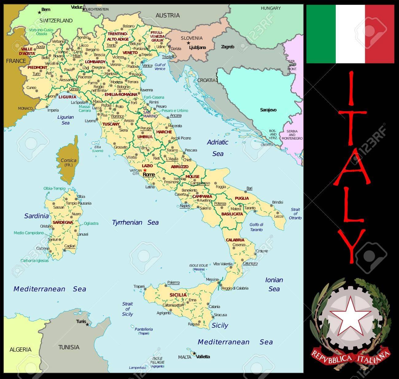 イタリアの地方行政区画 の写真...
