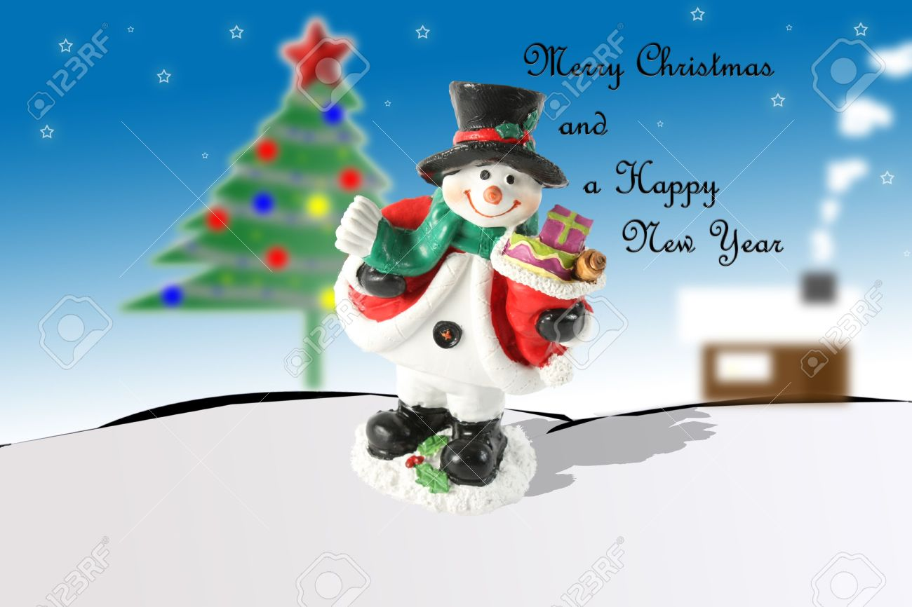 merry christmas and happy new year wishes you can add your own text in bottom
