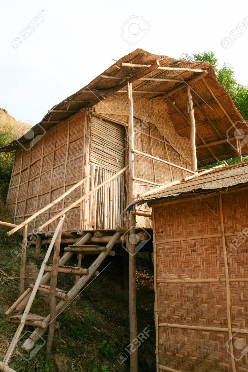 Cheap straw hut accommodation in arambol goa india