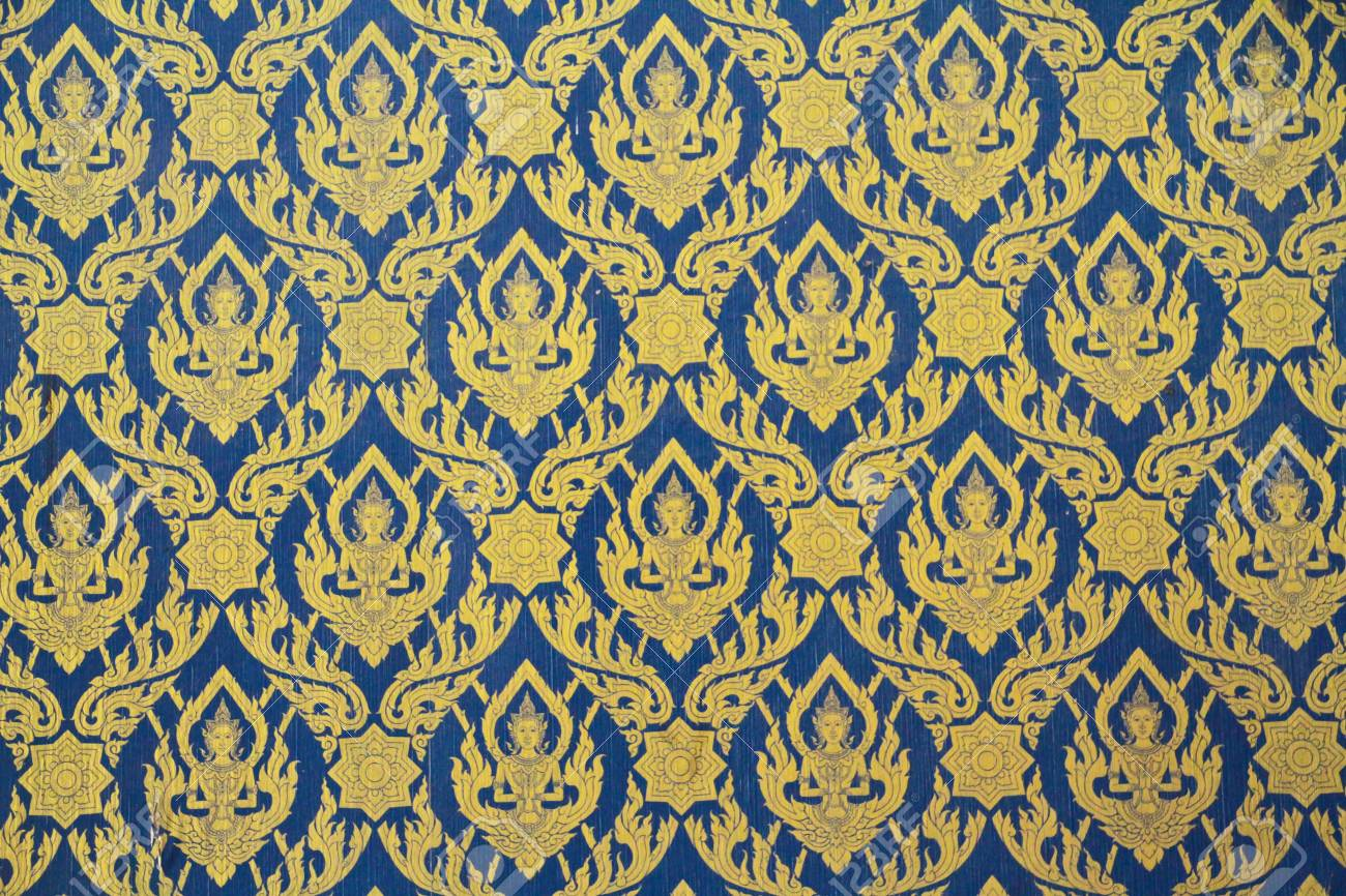Mural thai temple Stock Photo - 13409568