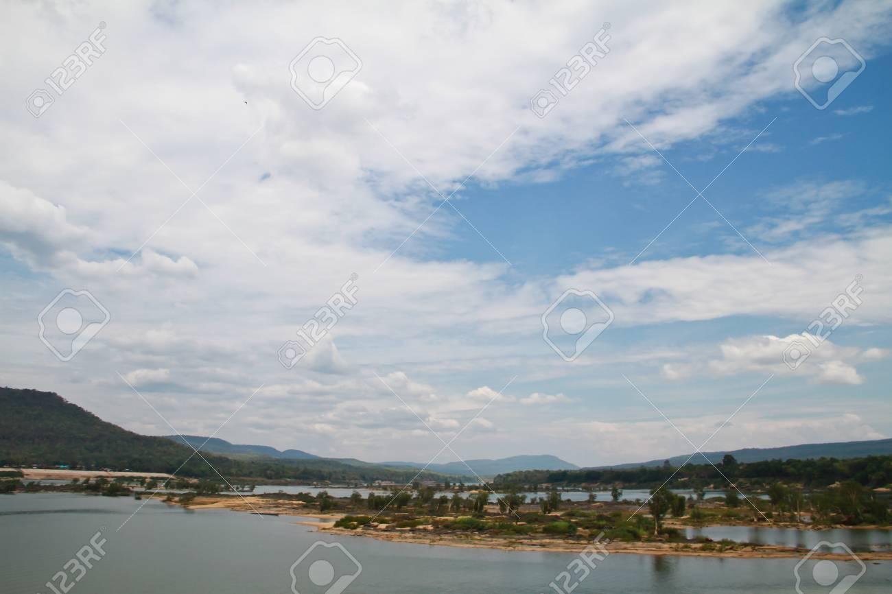 Two colour river Stock Photo - 14448475