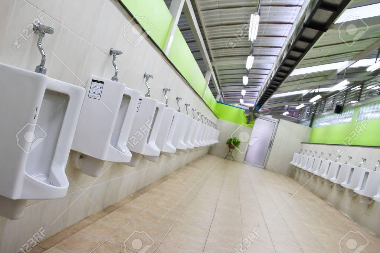 row of urinal Stock Photo - 14659665