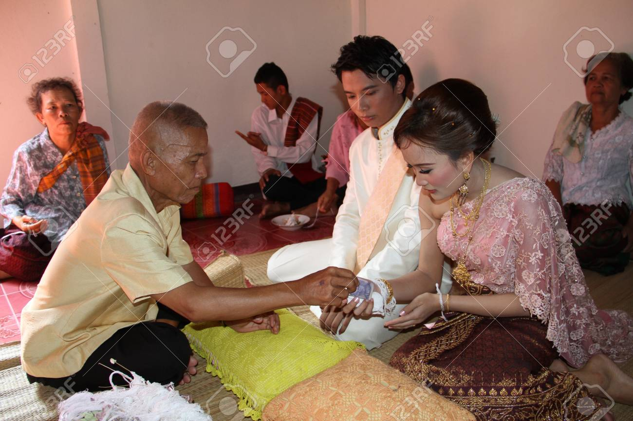 Thai Traditional Wedding Stock Photo, Picture And Royalty Free Image ...