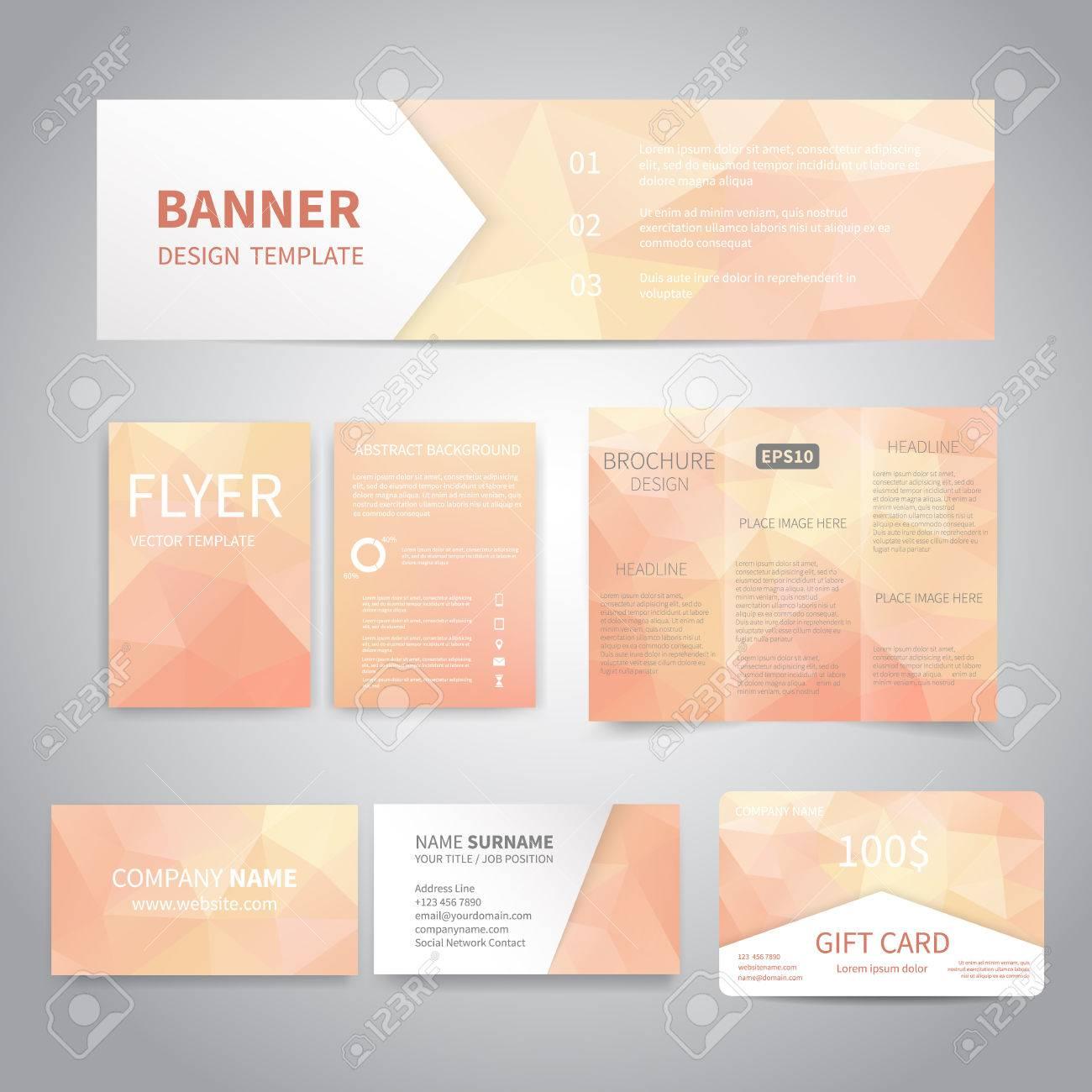 Banner, Volantes, Folletos, Tarjetas De Visita, Plantillas De Diseño ...