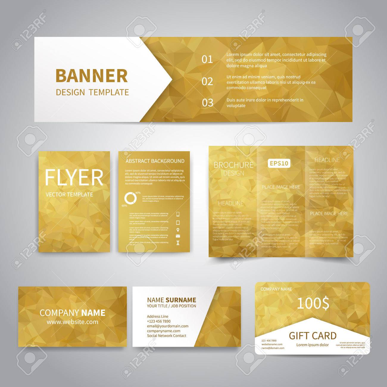Banner, Flyers, Brochure, Business Cards, Gift Card Design ...