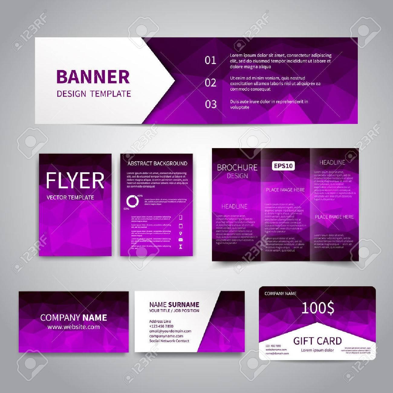 Banner, Flyers, Brochure, Business Cards, Gift Card Design ...