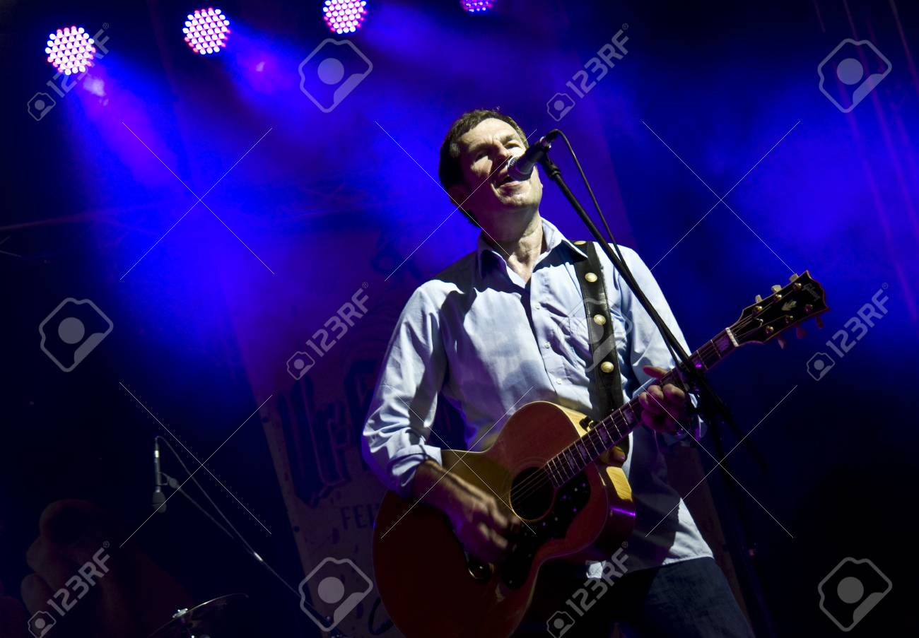 Halle, Germany. Laternenfest. concert of the Michy Reincke Band on August 26, 2011 Stock Photo - 10404122