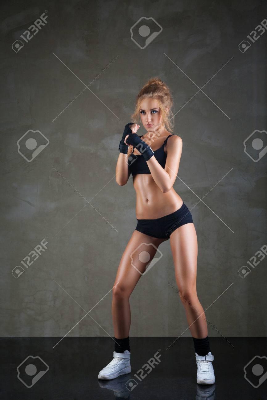 Сексуальный бокс женщин 22 фотография