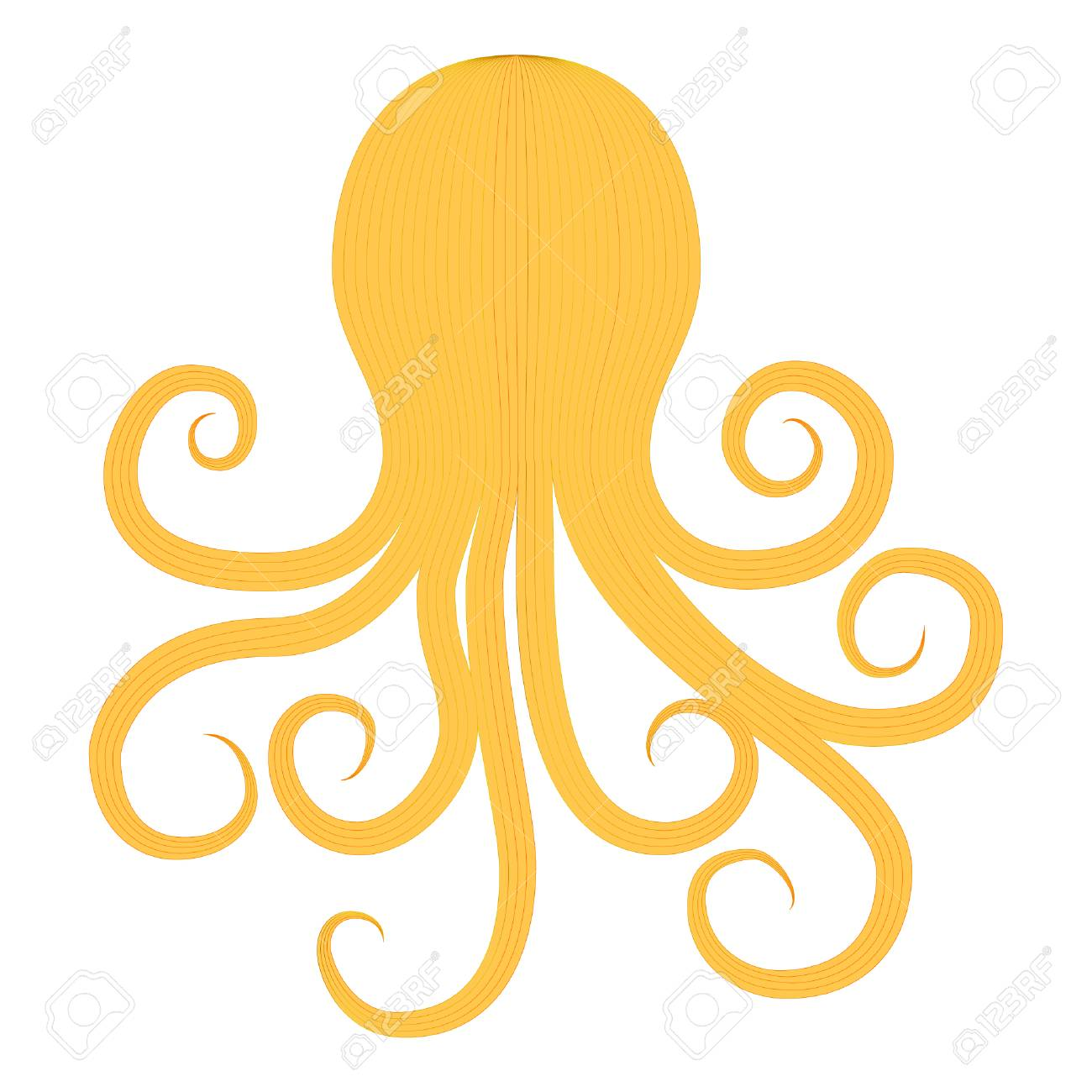 octopus silhouette in vintage style on transparent background royalty free cliparts vectors and stock illustration image 109757887 octopus silhouette in vintage style on transparent background