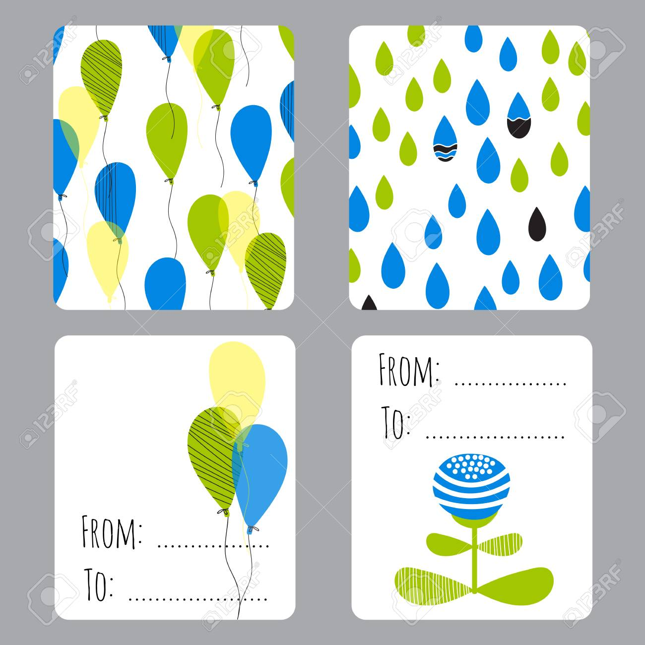 Vector set of small card templates with place for text for greeting vector vector set of small card templates with place for text for greeting cards brochures tags and labels souvenirs invitations calendars and party m4hsunfo